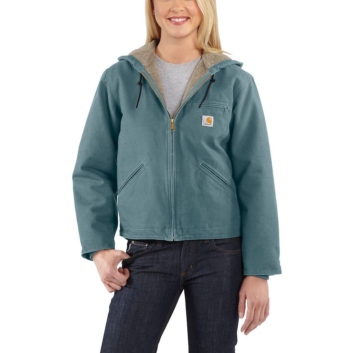 94a40436a40f67 Women s Sandstone Sherpa-Lined Sierra Jacket WJ141