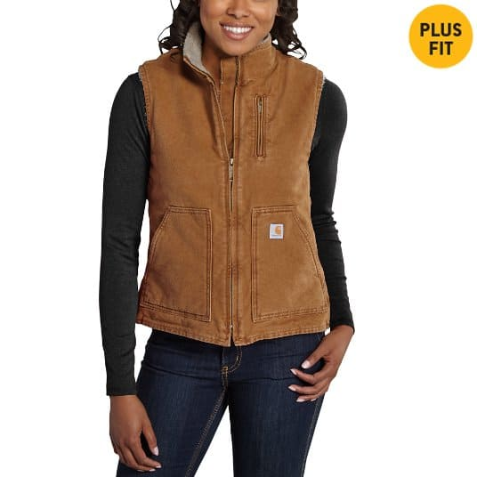 Carhartt apparel Women's Brown Sandstone  Vest