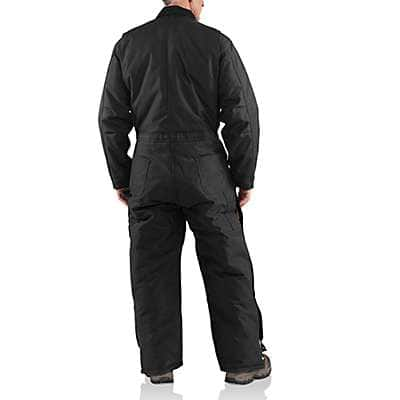 Carhartt Men's Black Yukon Extremes® Coverall / Arctic Quilt-Lined - back