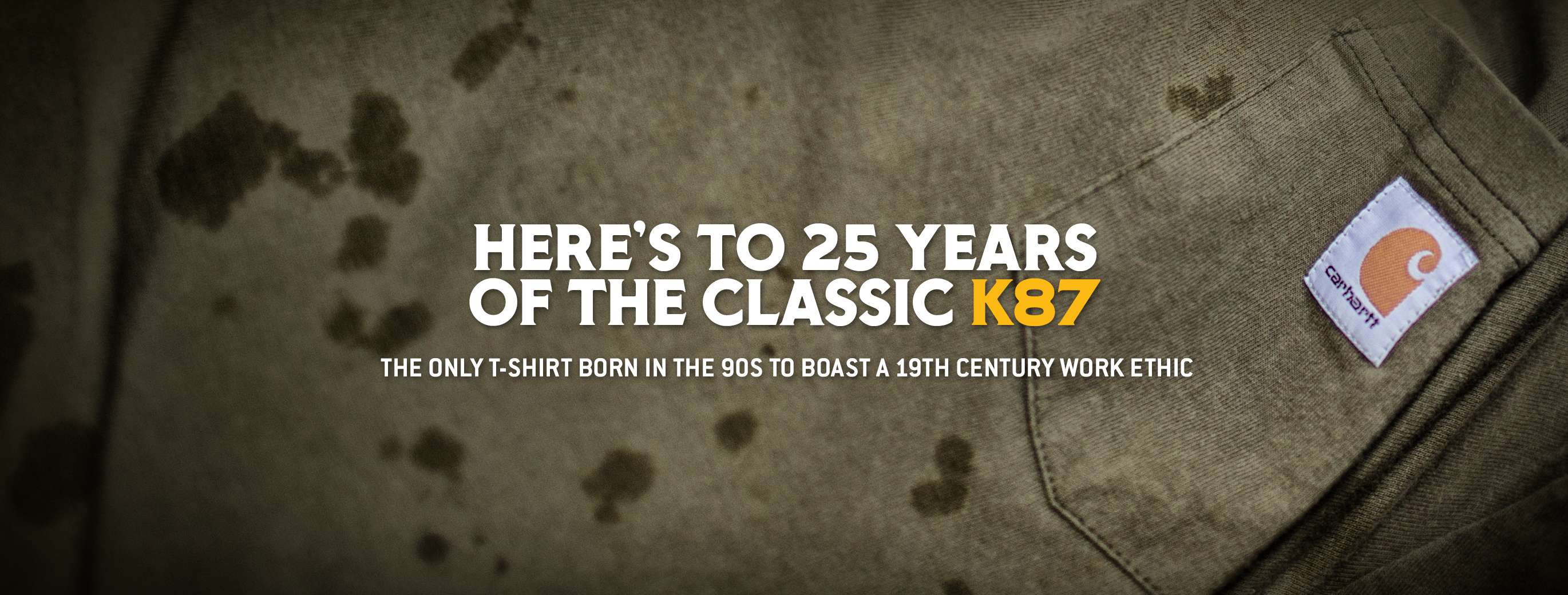 Here's To 25 Years of the Classic K87