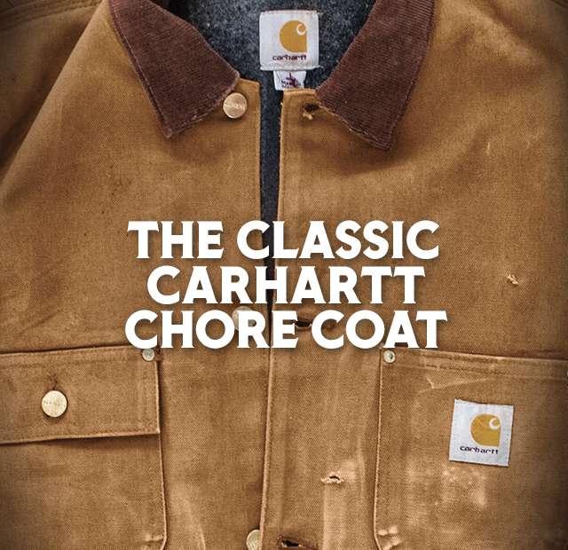 The Classic Carhartt Chore Coat