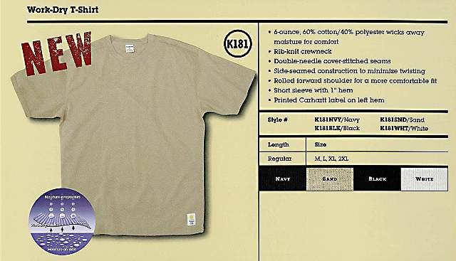 Work-Dry T-Shirt, Spring 2005